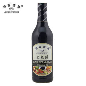 500 ml Jade Bridge Black Rice Vinegar benefit health oem with factory price