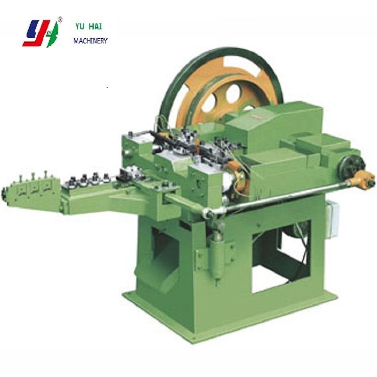 High speed automatic wire steel iron nail making machine