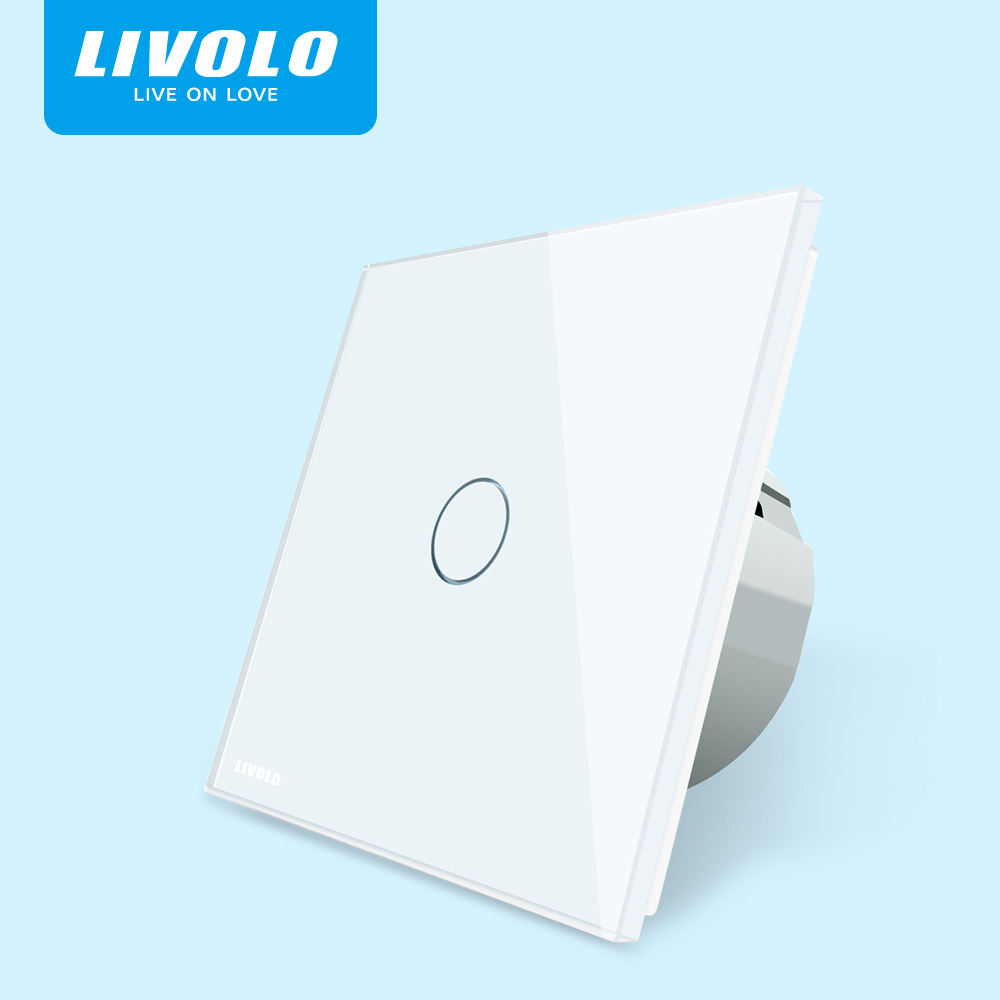 LIVOLO VL-C701-11 European Style AC 220~250V Wall Light smart touch switch