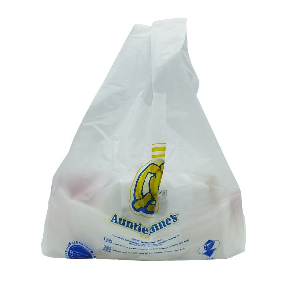 Eco Friendly Custom Compostable and Biodegradable Plastic Bags