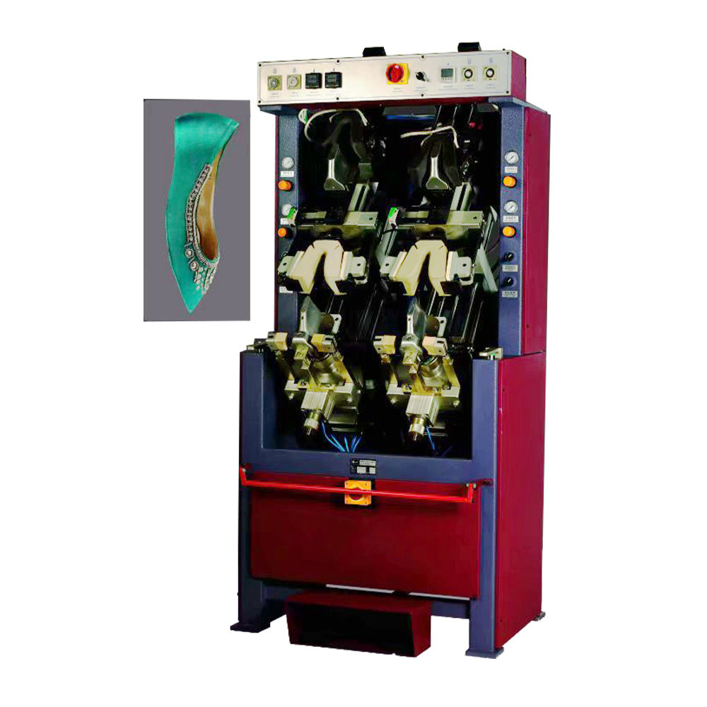 10% off shoe factory equipment 2 cooling and 2 heating station porming machine shoe making machine china shoe machine