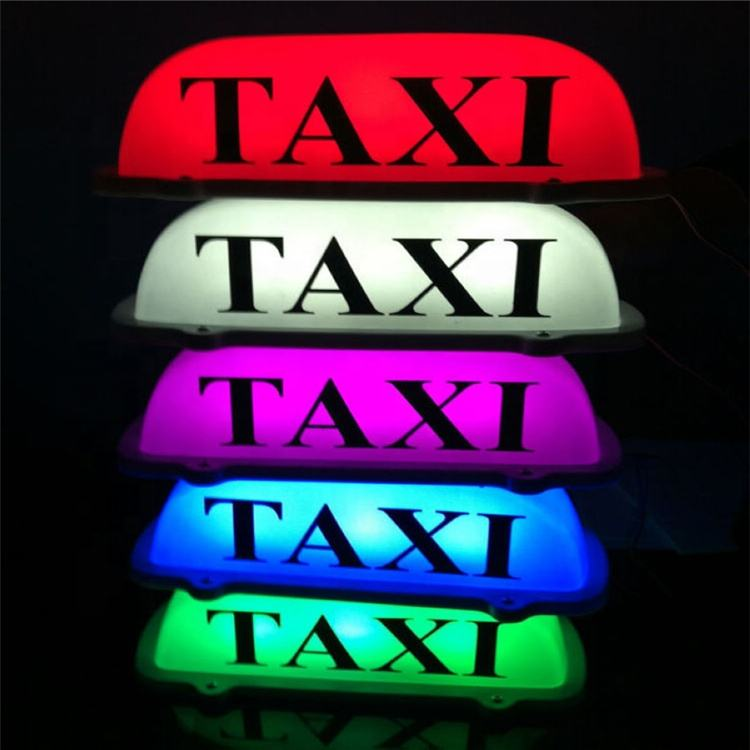 Customized Shape Cheap Price LED Luminous Taxi Lamp