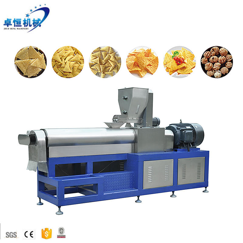 Công Suất Lớn Crispy Taste Corn Chips Making Machine/Doritos Chips/Nachos