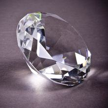 MH-ZS0022 Hot sale wholesale shining clear crystal diamond paperweight as wedding table gifts or anniversary