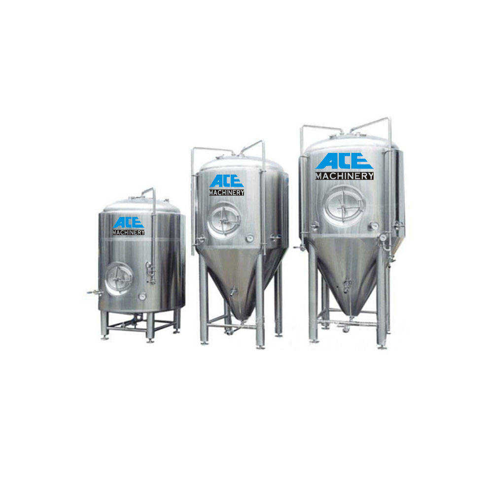 Stainless steel 200L 500L 1000L 2000L dimple jacket wine fermenter bright tank brewery beer fermentation tank