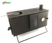 portable wood fired cooking stove