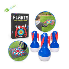 YumuQ Custom Inflatable Toss Game Set for Kids and Adults Indoor or Outdoor Family Fun Yard, Lawm Games