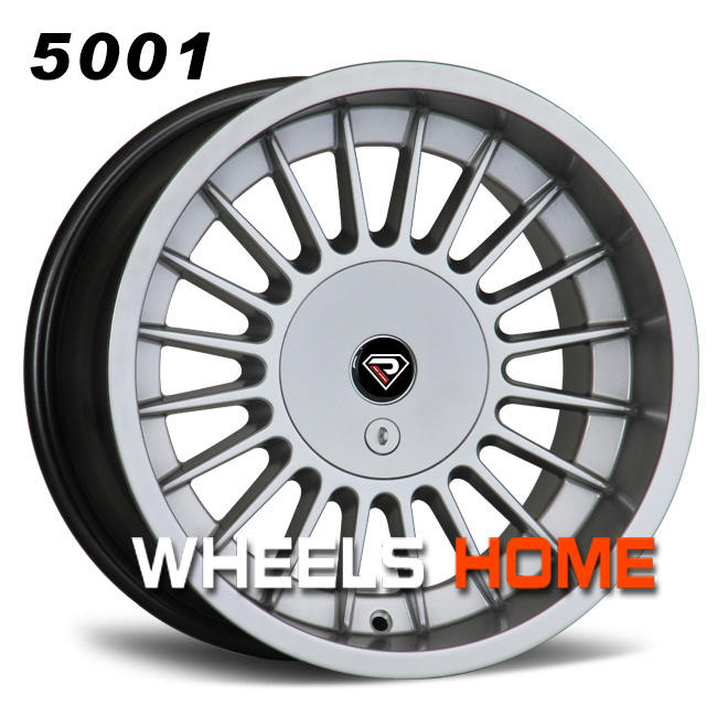 Rep:5001, Chinese Supplier VIA JWL car wheels for E30/e34/e36/e38/e39,16/17inch staggered alloy wheels