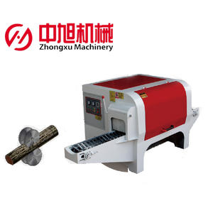Automatic log saw cutting machine angle saw angle circular sawmill portable