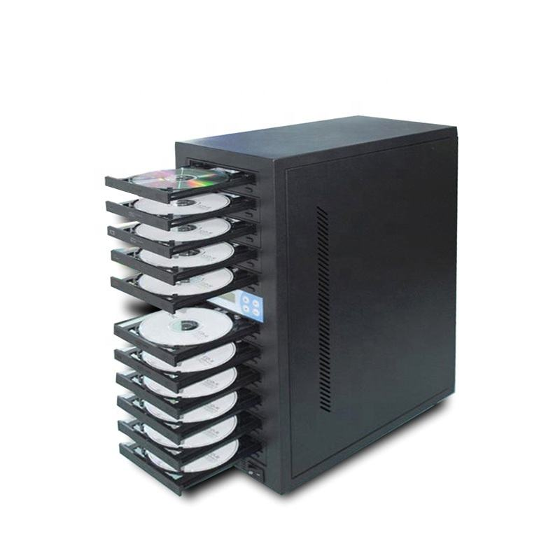 Factory 1 to 5 Trays CD DVD Burner Machine CD DVD Duplicator