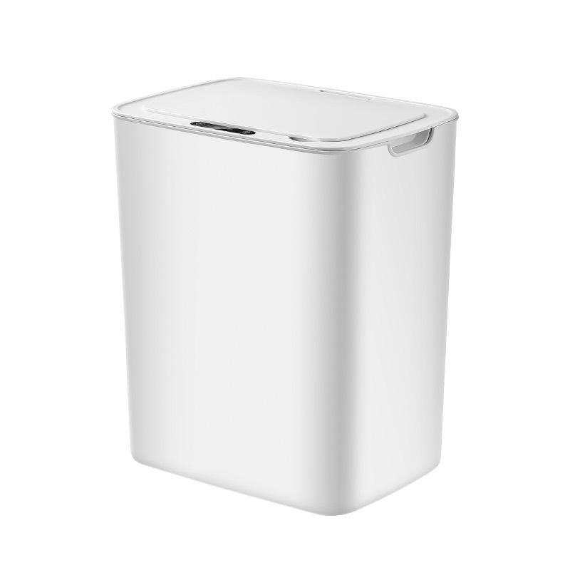 Intelligent Sensing Trash Can 14L Automatic Smart Sensor Electric Waste Bins PP Plastic Home Eco-Friendly Dustbin