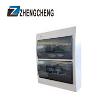ZCEBOX Price 3 Phase Plastic Electrical Control 2,8 Way Mcb Db Panel Box