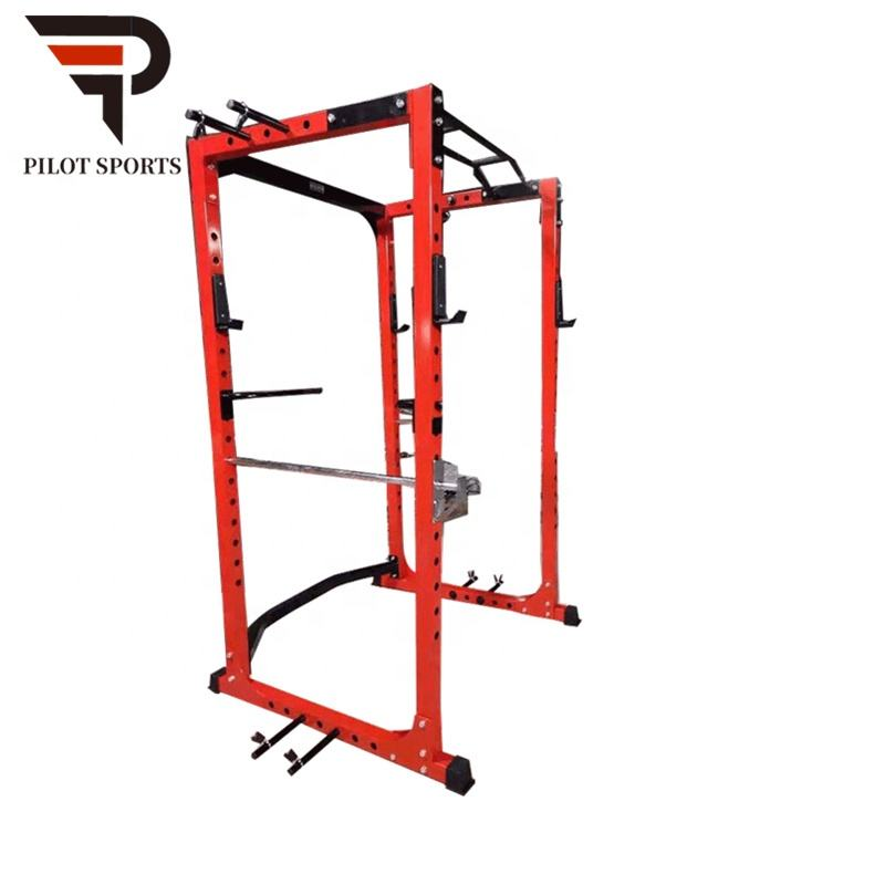 นักบินกีฬา Commercial Multi Heavy Duty GYM Fitness Equipment Commercial Multi Power Rack CAGE squat