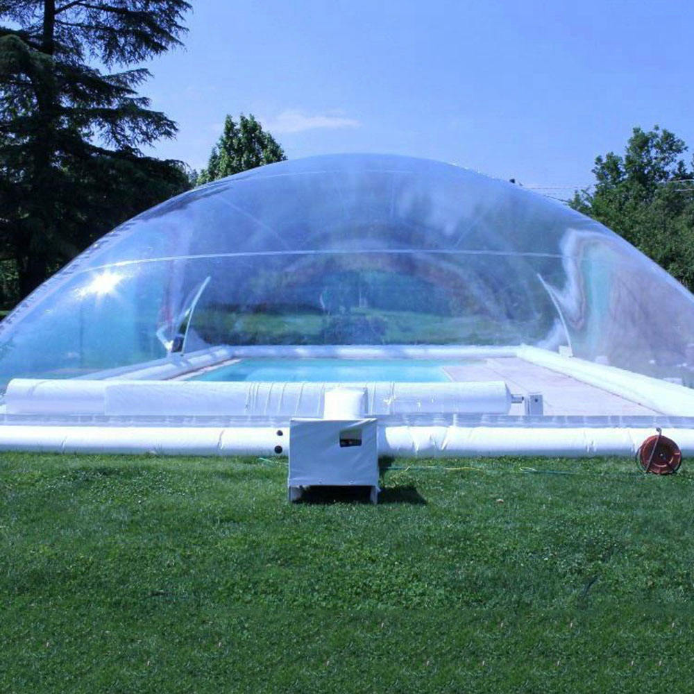 Customized Pool Cover Transparent Air Inflatable Swimming Pool Dome