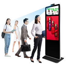 Temperature Sensor Scanner Kiosk Temperature Monitor Thermographic Instruments Digital Signage Display Advertising Player