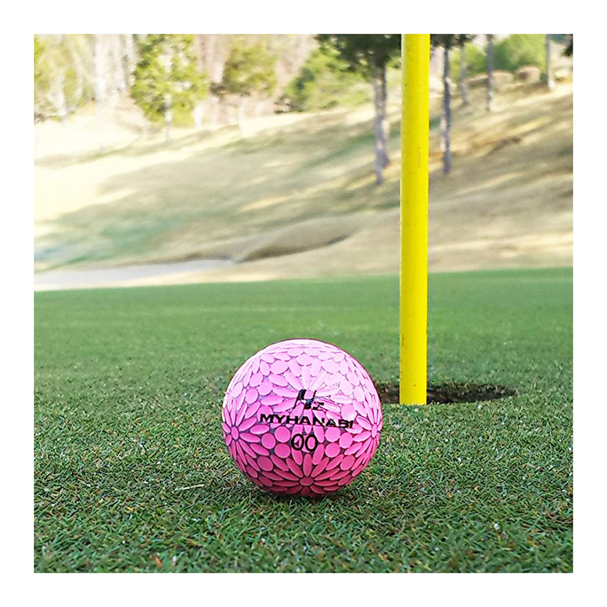 Special functionality and design training golf balls supplies