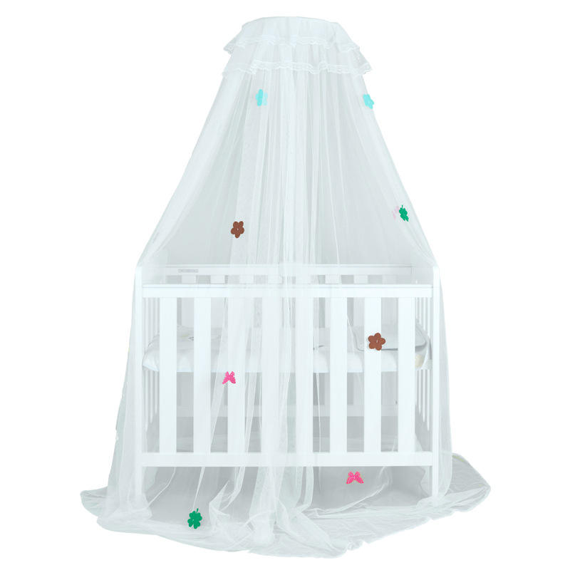Newborn Child Bed Baby Mosquito Net Cover Clip Type Full Cover Floor-standing Baby Mosquito Net