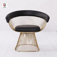 Stainless steel and round leisure chair  for living room