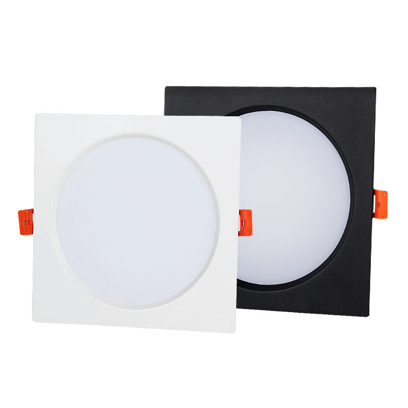 CE RoHS SAA מוסמך 15w led downlight שקוע כיכר downlight ip44 תקרת slim downlight led פנל אור
