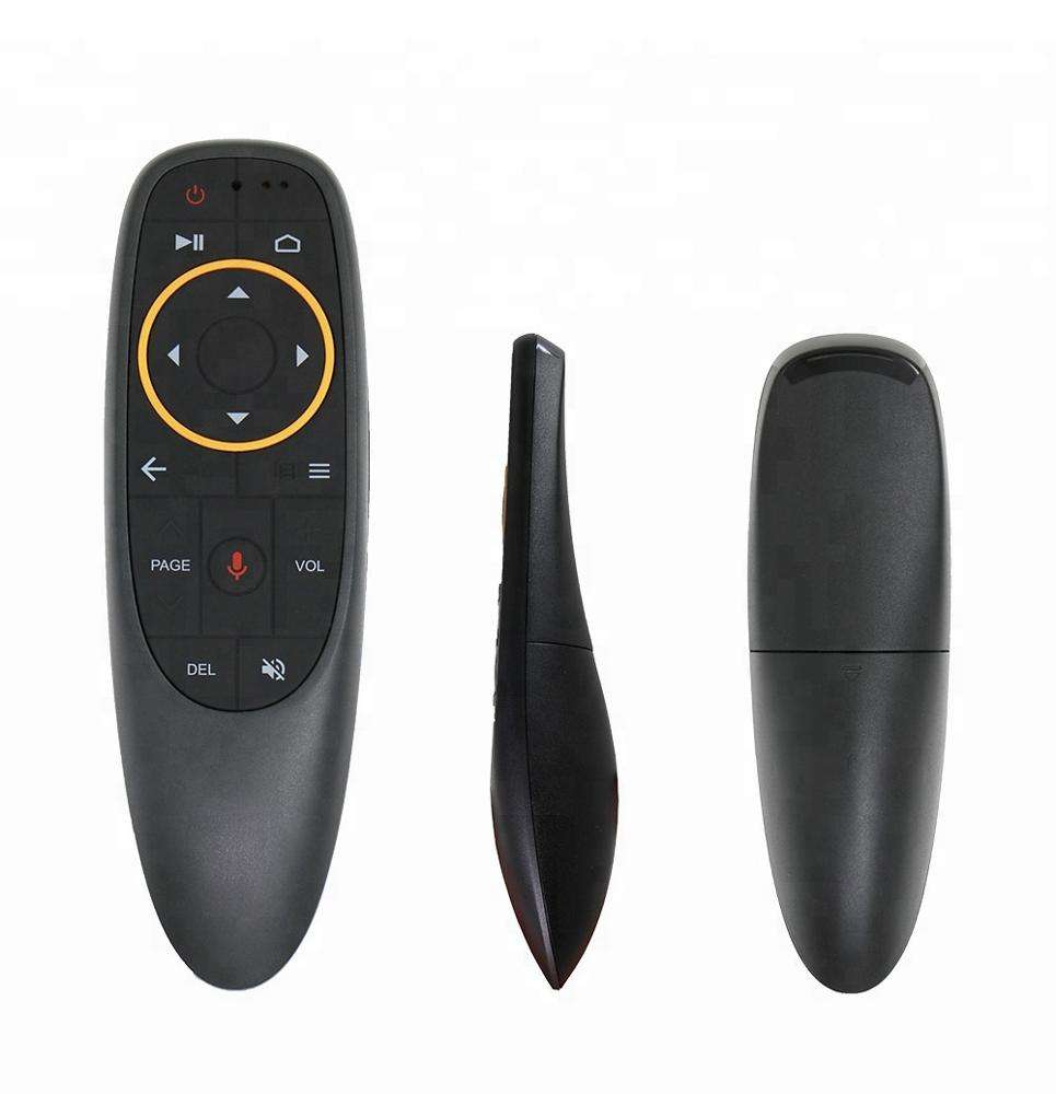 G10S g-sensor air mouse remote control with voice function 2.4GHz Wireless G10 Fly Air Mouse for smart TV Box