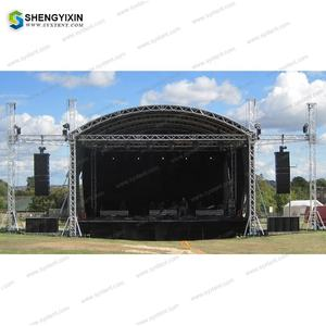 Gemakkelijk Installeren Tech Aluminium Line Array Tv Dj Licht Truss Stands Stadium Spigot Truss + Display Truss Staaf In China