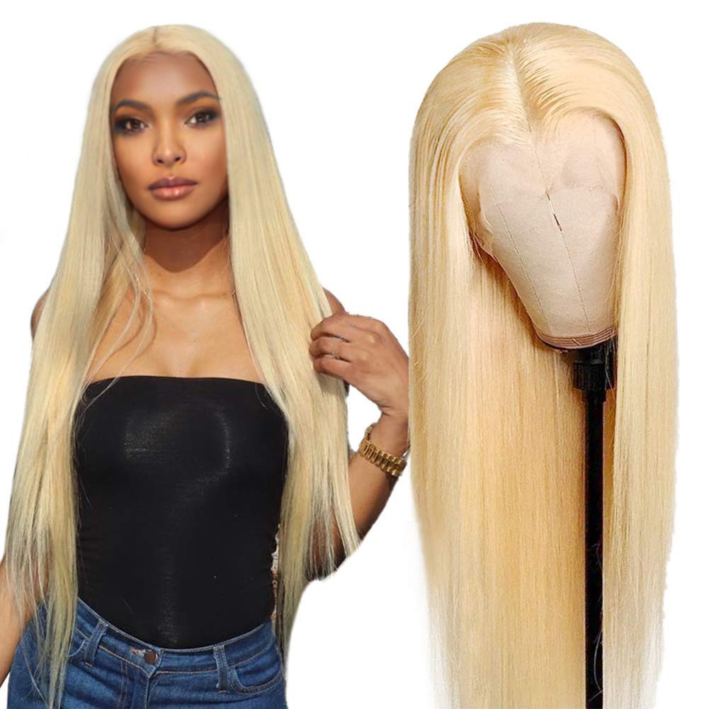 Wholesale Price 13x4、4 × 4 613 Human Hair Wig、14-50 Inch Blonde 613 Full Lace Wig、Virgin Hair Full Braid WigsためWomen