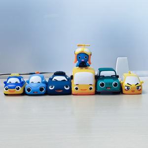 OEM Custom Plastic PVC Cute TAXI Car Toy For Children