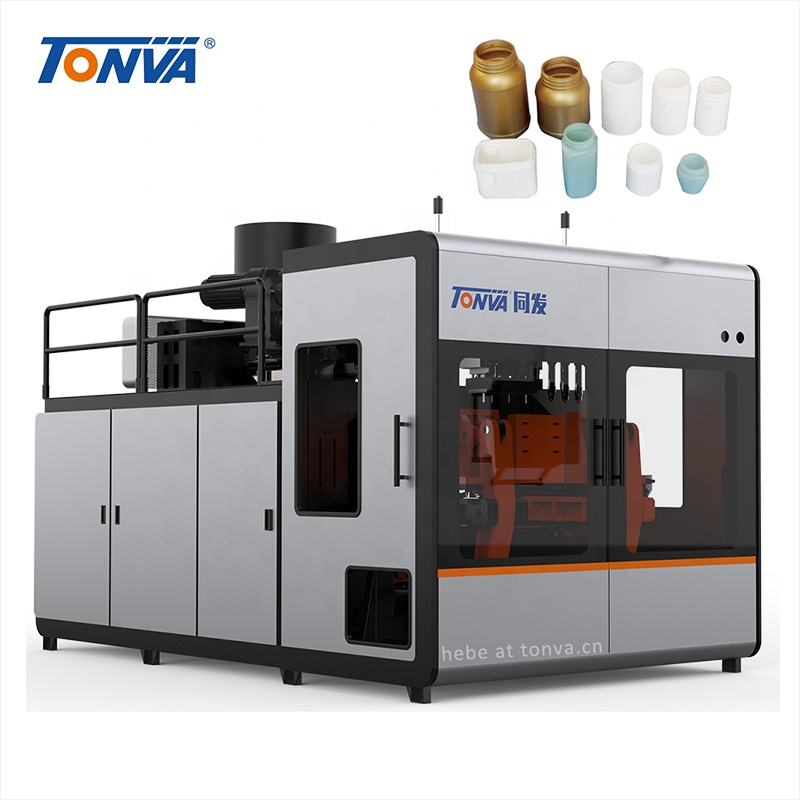 TONVA wide mouth plastic bottle making blow/blowing molding machine