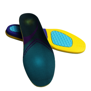 Functional EVA shock absorb foot care gel anti-slip sport insole