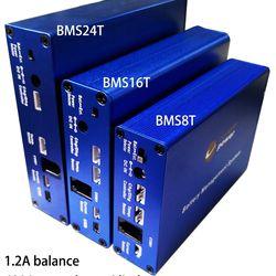 Smart BMS 100A 300A 600A 16T 2S-16S Balance 1.2A Chargery Lipo lifepo4 LTO Li-ion Lithium 4.0