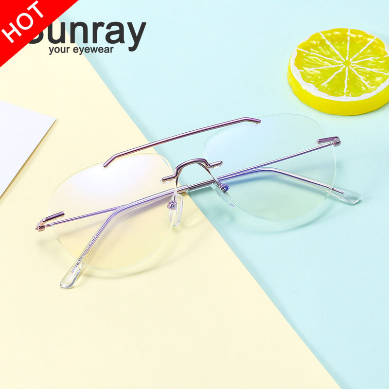 2021 Unisex Computer Glasses Optical Spectacle Eyeglass Eye Vintage glasses Optical Eyeglasses, Prescription Glasses/