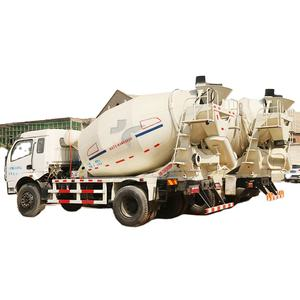 Small Diesel Cement Transportation Tank 4m3 Ready Mix Concrete Truck