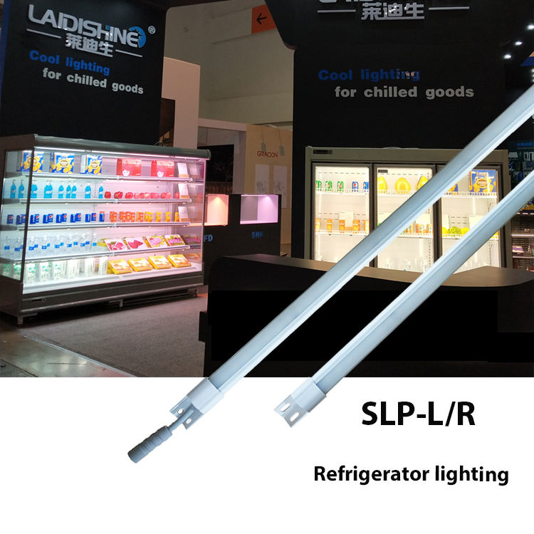 IP54 double-sided cable horizontal vertically closed&freezer multideck open top entire shelf led lighting RFB-L/R series