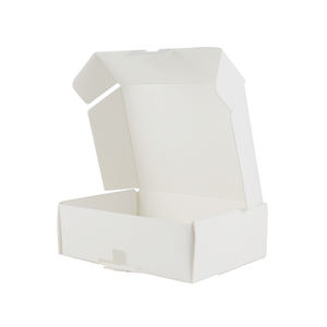 Custom Printing White Card Paper Packaging Shoe Box