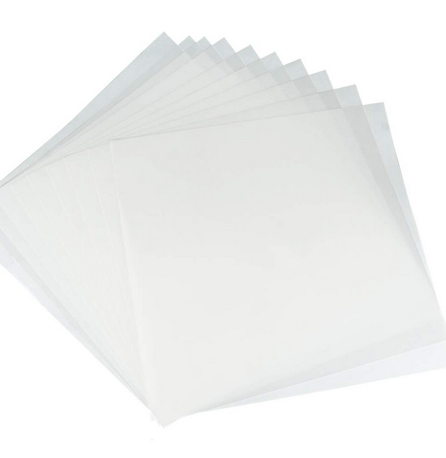6mil Blank Stencil Material, 12 x 12inch- Perfect for Use with Cricut & Silhouette Machines