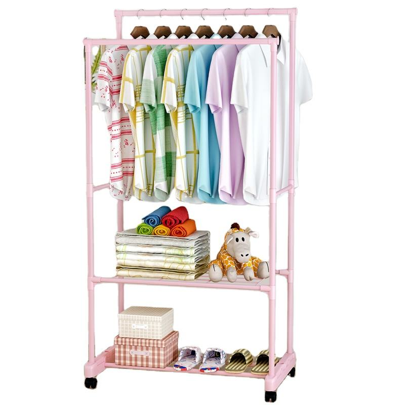 Foldable Home Furniture Laundry Clothes Drying Rack Home Household Cloth Shoes Hanger
