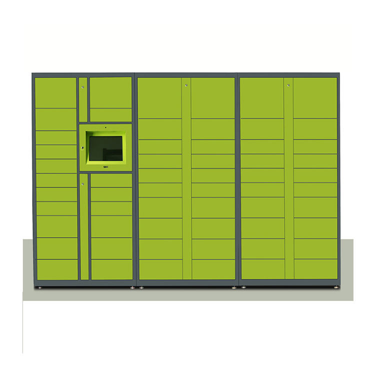 Parcel Delivery Password Barcode Design Digital Laundry Technology Storage Electronic Locker