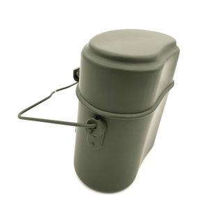 Открытый Кемпинг портативный коробки для обедов Военная Униформа алюминий Пикник