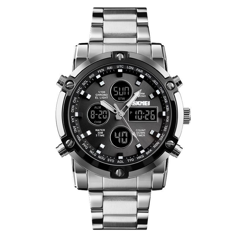 skmei 1389 chain wristwatch mens fashion watch for men luxury