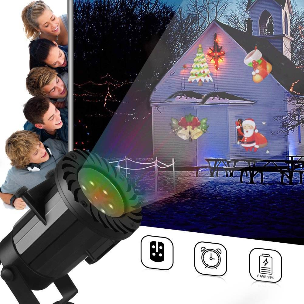 Mini HD Led Projector Lens Laser Light For Christmas Led Lights Outdoor