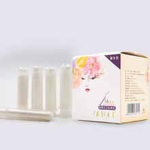 Wholesale lady care products disposable use menstrual biodegradable best brands natural organic tampon