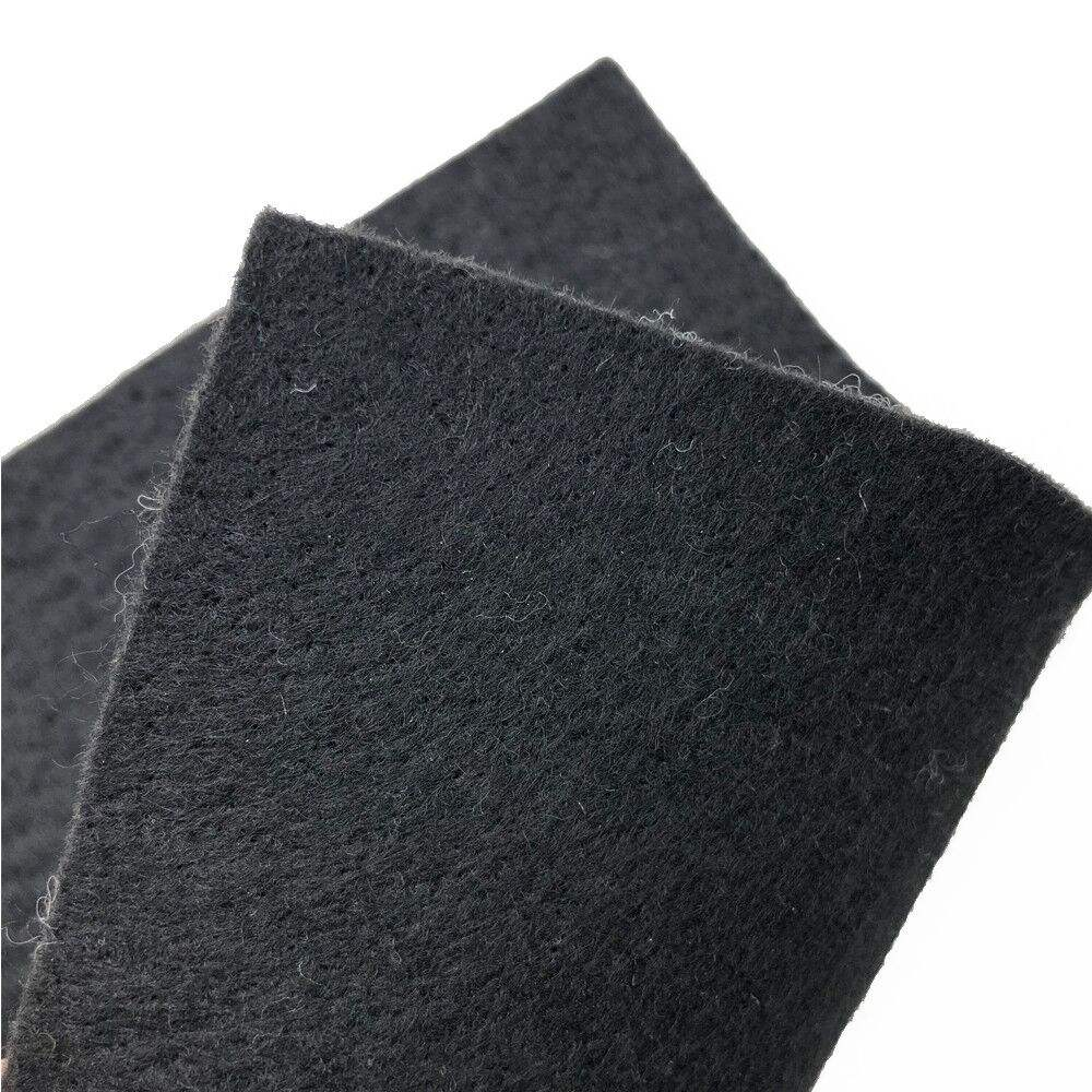 Polyester car interior upholstery sound absorption fireproof nonwoven felt fabric