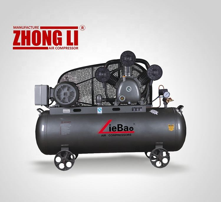 China Betrouwbare Fabrikant Zuiger Type Air Compressor LB-75170 5.5KW 7.5HP Kolbenluftkompressor