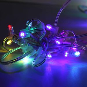 100 M Licht Guirlande Clip Kerst Cluster Fairy Ketting String Lights Clips Plank Groen 12 V Led Outdoor Verlichting