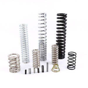China Manufactures High Precision Small Flat Wire Electric Tailgate Flocking Compression Springs for Auto Car