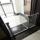 Chinese Factory Supply ABS Plastic Metal Adjustable Baby Safety Gate For Children
