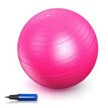 65cm Exercise Yoga Ball Slip-Resistant Yoga Balance Stability Swiss Ball