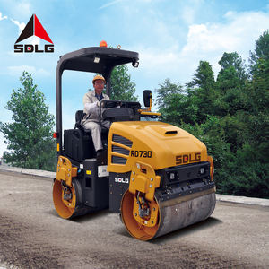 SDLG RD730 high quality road machinery compactor machine 3ton roller double drum for sale