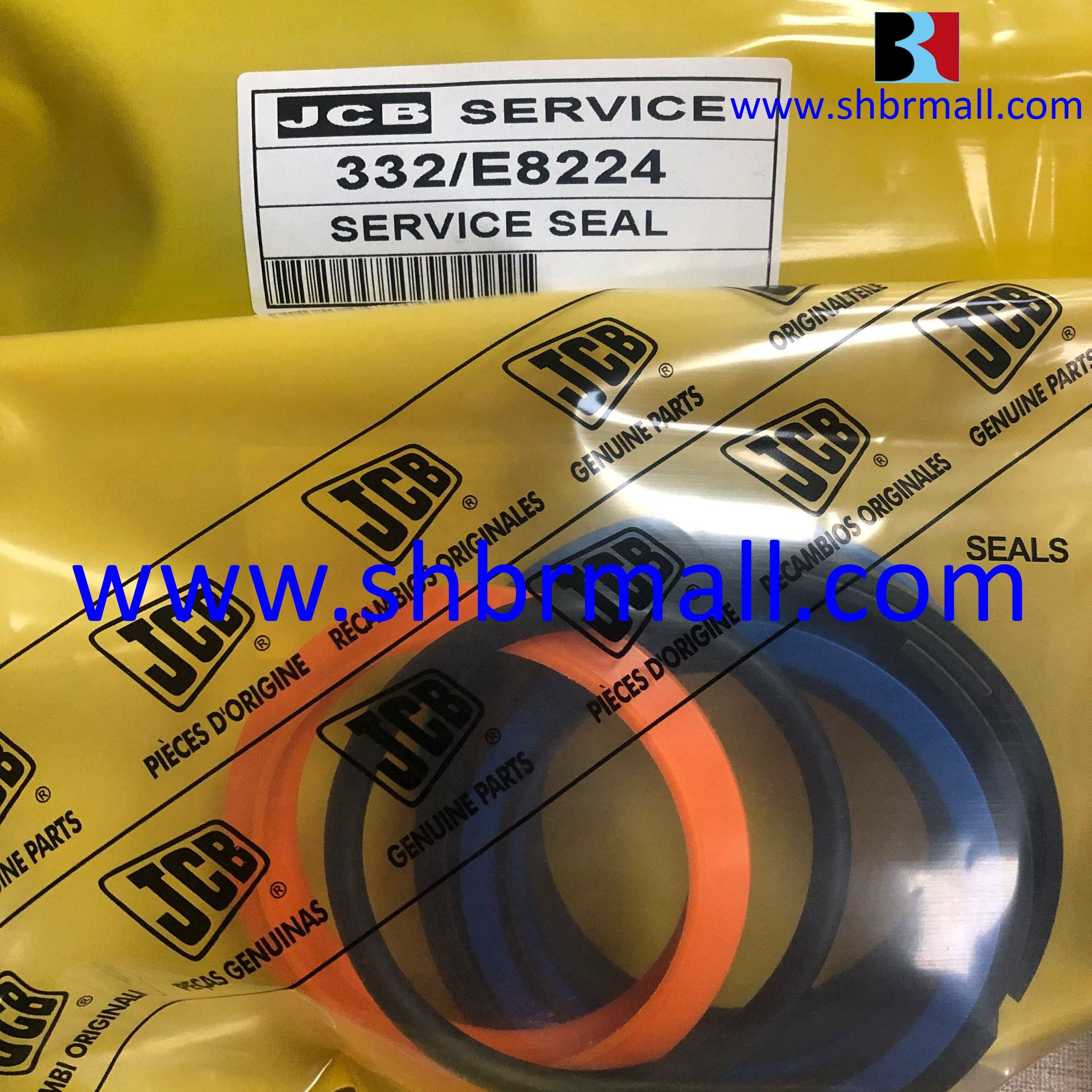 332-E8224 Complete Hydraulic Seal Kits for JCB Backhoe Loader