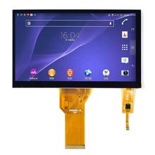 "Outdoor sunlight available innolux Display lcd tft 7"" 1024x600/800x480 dots FT5436/FT5426 capacitive touch screen"
